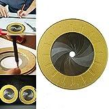 Strumento di disegno circolare flessibile Modello di misurazione e disegno rotante regolabile, righello portatile circolare