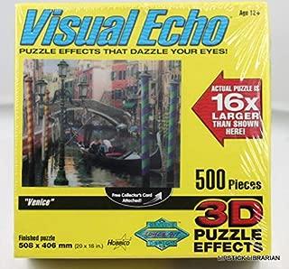 Visual Echo 3D Effect Venice 3D Lenticular Puzzle 500pc S4