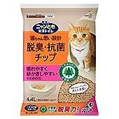 ニャンとも清潔トイレ 脱臭・抗菌チップ 大容量 小さめ4.4L [猫砂] システムトイレ用 4.4リットル (x 1)