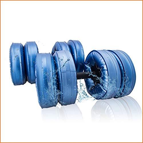 Mjd Dumbbell Draagbare reishalters voor training, milieuvriendelijk, met water gevuld met halters voor fitness, 20 kg fitness