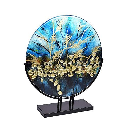 TABLE PASSION - décoration sur Socle Disque Plat Eliott 38 cm