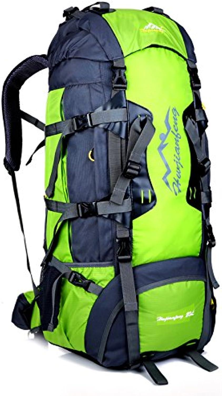 INFIKNIGHT INF 80L Outdoor Mountaineering Bag Metal Frame Climbing Climbing Climbing Rucksack Unisex Hiking Backpack Camping Waterproof treking Bags rain Cover B07Q37KZ37  Verkauf Online-Shop 4c12ca