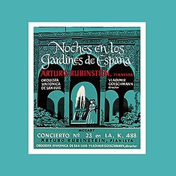 Falla: Noches En Jardines De Espana - Mozart: Concerto Num. 23