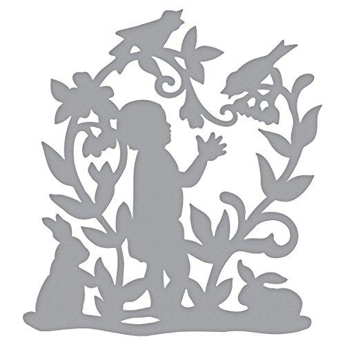Spellbinders Shapeabilities Baby 's Garden sterven, metaal, bruin, 15,2 x 9,4 x 0,2 cm