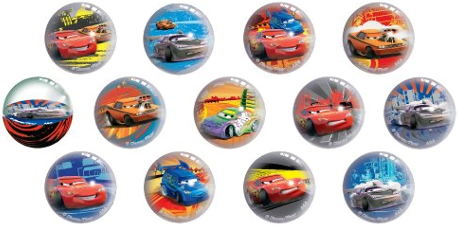 Disney Pixar Cars  Super Balls  Set of 12 by Disney