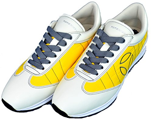 MOMO Design Scarpe Uomo Sneackers Men -Giallo-43