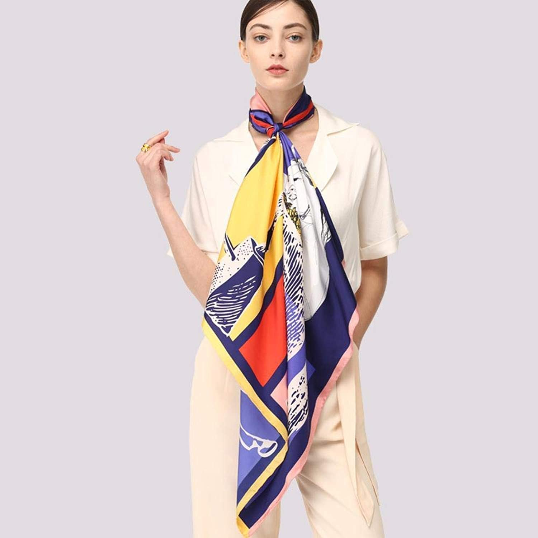 Paioup Women's silk silk scarf handmade silk scarves Perfectly expresses unique temperament