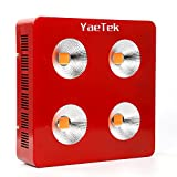 YaeTek 800W/1200W/1800W Full Spectrum COB LED Grow Light System Panel Lamp Indoor Flower Veg Plant Yard Garden (800W)