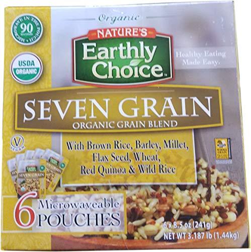 Organic Nature Earthly Choice Seven Grain Rice (6 Pack / 8.5 Oz Net Wt 51 OZ)