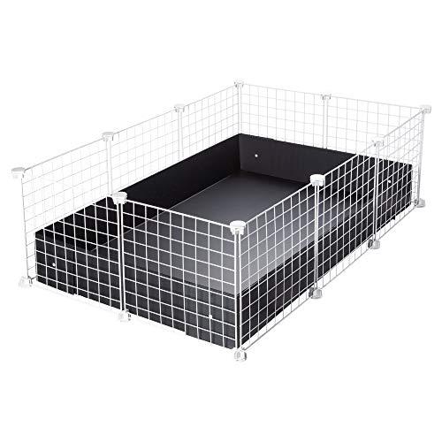 CagesCubes - Jaula CyC Medium (2X3 Paneles en Blanco) + Base de...