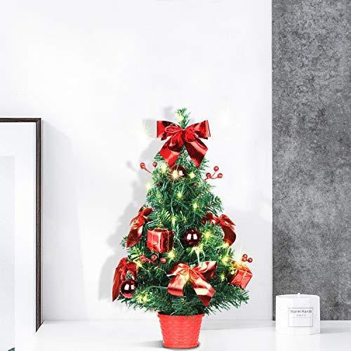 SHareconn Albero di Natale da Tavolo 40cm