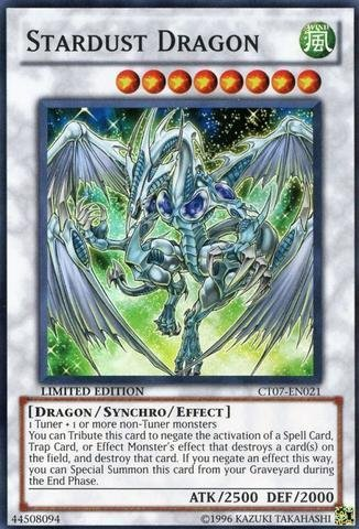 Yu-Gi-Oh! - Stardust Dragon (CT07-EN021) - 2010 Collectors Tin - Limited Edition - Super Rare
