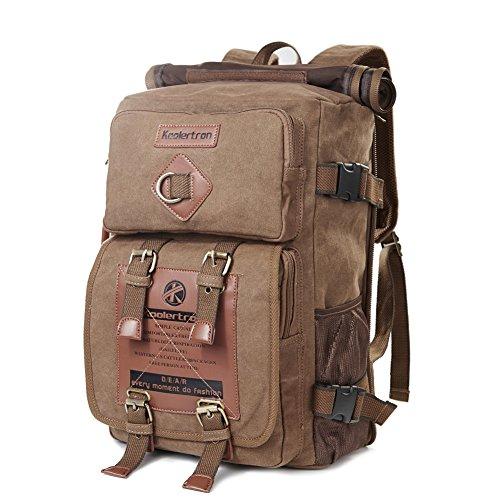 Zaino Tela classica modo dell'annata unisex Zaino Laptop Backpack la borsa per la scuola Camping Viaggi Adatto Acer Aspire / MacBook /