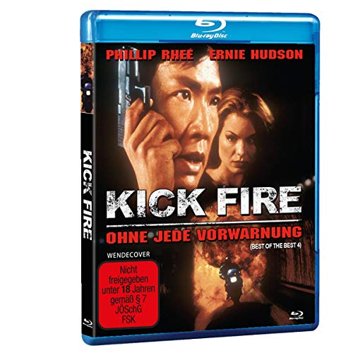 Kickfire - Best of the Best 4 (Kick Fire - Ohne jede Vorwarnung) [Blu-ray]