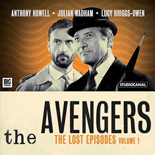 『The Avengers - The Lost Episodes, Volume 1』のカバーアート