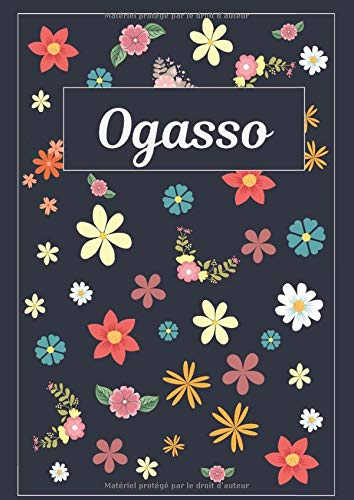 Ogasso: Journal | Agenda | Carnet de Notes | 120 pages | A4 | Blanc | Idée Cadeau
