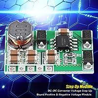 耐久性のある実用的な小型ブースト電圧コンバータ、正の負のデュアル出力モジュール、3.3V〜13Vから±15VのADC DAC回路修理LCDによる回路保護