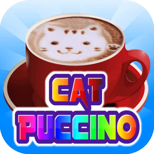 Cat Puccino stress relief games free for relaxing and anxiety free for adults offline without Internet