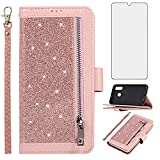 Asuwish Compatible with Samsung Galaxy A20 A30 Wallet Case