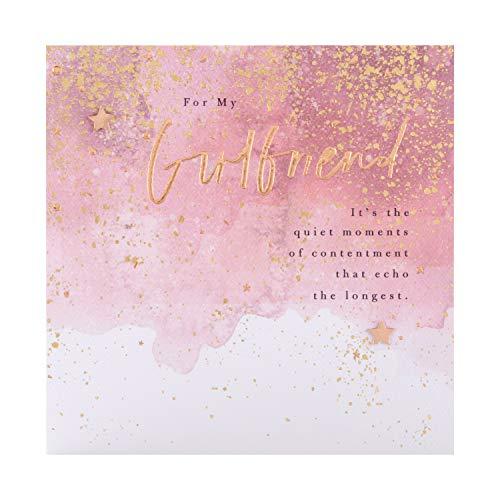 Verjaardagskaart voor vriendin van Hallmark - Goud Verijdeld Modern Ontwerp