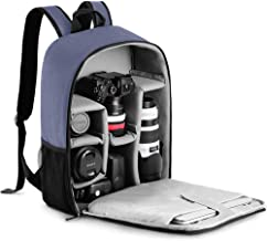 CADeN Camera Backpack Bag with Laptop Compartment 15.6