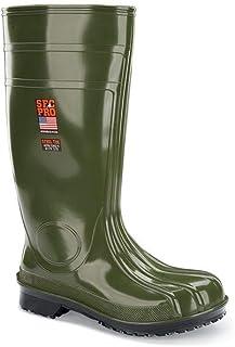 "Shoes for Crews Mens Guardian IV ST Steel Toe 16"" Slip Resistant Work Boot Black"