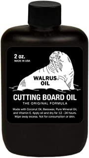 WALRUS OIL - Cutting Board Oil, 2oz Sample Size - Box of 24