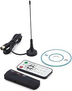 R820T DVB T Receiver, USB 2.0 Digital DVB T SDR+DAB+FM HDTV TV Tuner Receiver Stick RTL2832U+R8202 Tuner Receiver 25 1700 MHz