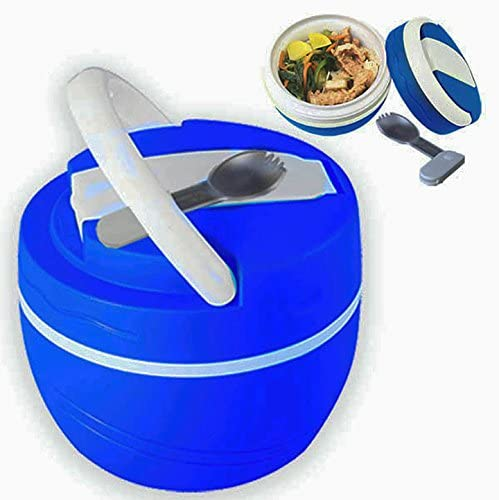 lowest Lunchbox Hot or Cold outlet online sale Food Jug Leak sale Proof w/Spoon BPA free 500ml Insulated online sale
