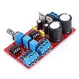 Weikeya Amplificador Parte Delantera Plato, con A Impreso Circuito Tablero Filtrar Condensador Op Amperio ICS Digital Amplificador Tablero