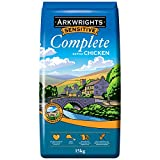 Gilbertson & Page Arkwrights Sensitive Complete Dry Dog Food Extra Chicken, 15kg