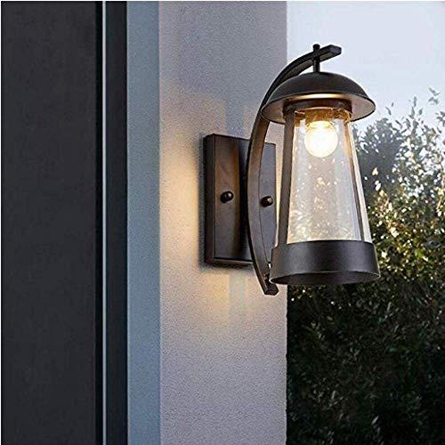 Meixian Wandlamp voor de buiten- of kabel, voor de verlichting van garageverenigingen, modern, van metaal voor de hal met persoonlijkheid (maat ?e: L) eenvoudig retro.