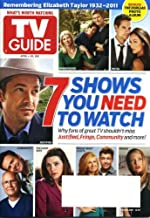 TV Guide April 4 2011 7 Shows You Need to Watch, Remembering Elizabeth Taylor, The Borgias Photo Album, Gayle King, Paul Wesley/The Vampire Diaries, The Killing