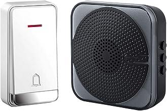 Draadloze deurbel Draadloze deurbel muur Plug-in draadloze deurbel 230m Range 32 Ringtones Level 4 Volume Draadloze deurbe...