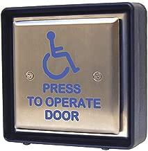Handicap Door Access Switch, Push Button