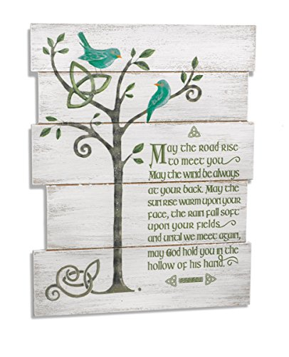 Grasslands Road Gr Celtic May The Road Wall Plaque (3 Pack)