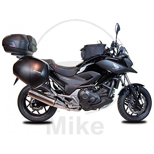 SHAD H0NT74IF Soporte Maletas 3P System para Honda Nc750X, Negro