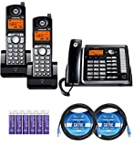 Best 2 Line Cordless Phones - Motorola ML25254 Expandable Corded 2-Line Business Phone Review