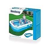 Zoom IMG-2 bestway piscine gonflable rectangulaire bleue