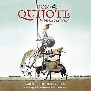 Don Quijote de La Mancha [Don Quijote of La Mancha] Titelbild