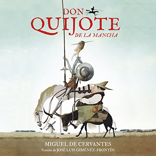 Don Quijote de La Mancha [Don Quijote of La Mancha] audiobook cover art