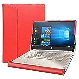 Alapmk Diseñado La Funda para 14' HP Pavilion x360 14m-dwXXXX/HP Pro c640 Chromebook/HP Chromebook 14a-naXXXX/HP Chromebook x360 14c-caXXXX & DELL Inspiron 14 2-in-1 5400 7405 Laptop,Rojo