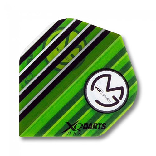 1 Satz MS-DARTSHOP Flights 4 Satz = 12 St/ück incl Typ 510 und 520 und 570 MS-DARTSHOP XQMax Flight Set Michael van Gerwen MvG