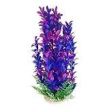 Planta artificial gigante para acuario o estanque de 75 a 80 cm de alto