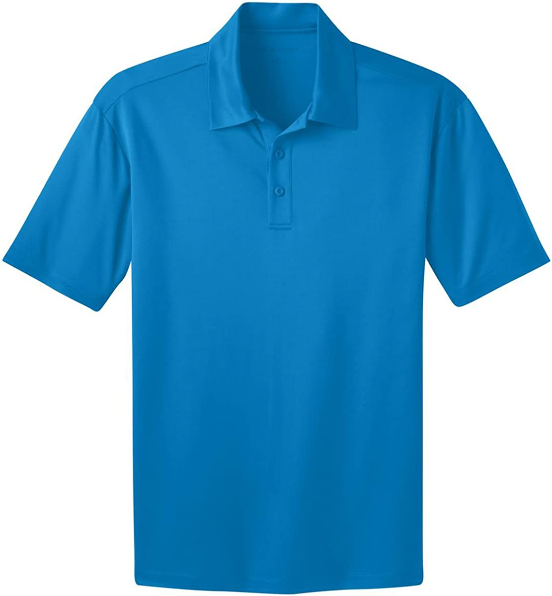 Port Authority Silk Touch Performance Polo Shirt-XS (Brilliant Blue)