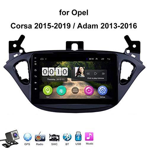 Android 8.1 Car Radio de Navegación GPS para Opel Corsa 2015-2019 con 8 Pulgada Pantalla Táctil Support WLAN FM Am/MP5 Player/Bluetooth Steering Wheel Control