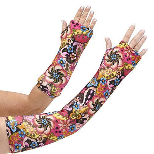 """CastCoverz! Designer Arm Cast Cover - Gypsy - Medium Short: 11"""" Length X 9"""" Circumference - Removable and Washable - Made in USA"""