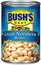 Bush's Best, Great Northern Beans, 15.8oz Can (Pack of 6)