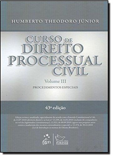 Curso De Direito Processual Civil - Volumes 3 - 4