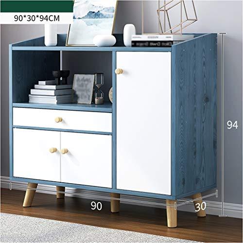 Muet Salon, eenvoudig, kast, keuken, modern, eenvoudig, multifunctioneel, voor oven, thee, wijn, kast, 90 x 30 x 94 cm, XMJ